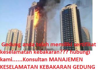 Sertifikat kebakaran gedung
