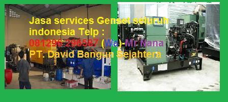 Maintenance, service dan distributor genset seluruh indonesia